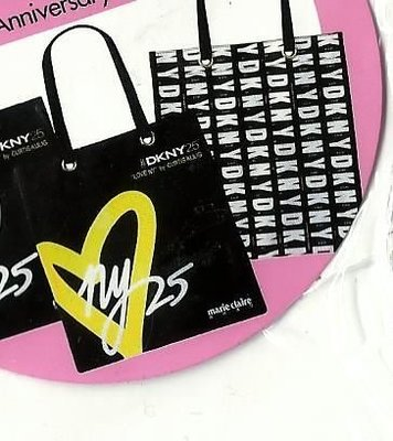 Marie Claire x DKNY 25 ANNIVERSARY TOTE