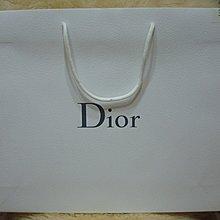 精品CD迪奧/Christian -Dior  大紙袋 保證真品