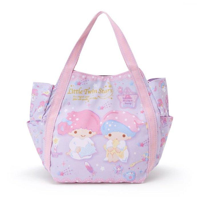 41+ 現貨免運費 小雙子星 KIKI LALA  托特包 午餐袋 購物包 輕巧方便袋 小日尼三 日本帶回