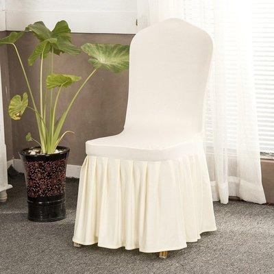 家用實用紅色美甲耐磨套罩圓餐桌布餐椅套椅套冬季結婚椅子