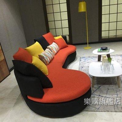 新品北歐布藝沙發組合簡約現代客廳大小戶...