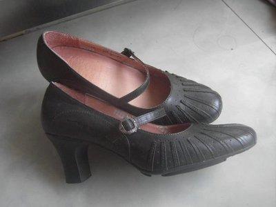 瑤瑤小舖@Macanna麥肯納瑪麗珍氣墊高跟鞋, 質感好, 美國尺寸7號