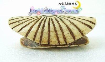 ((天堂鳥)) 日本製古董牙骨根付Netsuke (腰際間墜飾)|不二價