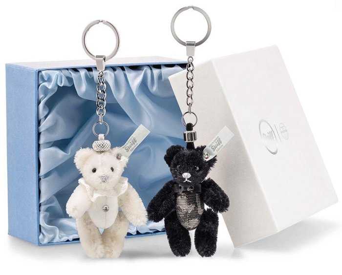 Ariel's Wish-預購英法倫敦代購Steiff德國金耳扣婚禮金六禮限量版新娘新郎鑰匙圈吊飾組限定版-9/30寄出