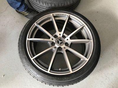 賓士 Benz W205 C63 AMG德國原廠18吋鋁圈(含普利斯通s001輪胎)