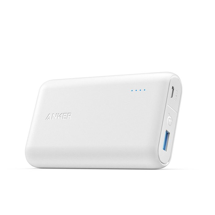 Anker PowerCore Speed 行動電源 10000 MAh (白) A1266 Black 群光公司貨