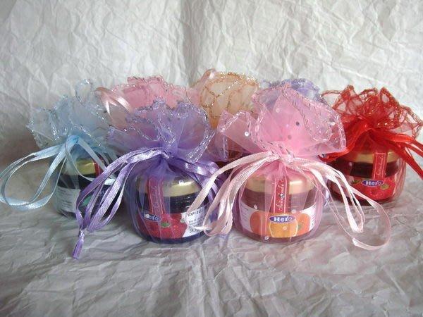 【氣球批發廣場】喜糖盒/棉花糖/綿花糖/小果醬/瑞士HERO迷你小果醬+紗袋蜂蜜口味