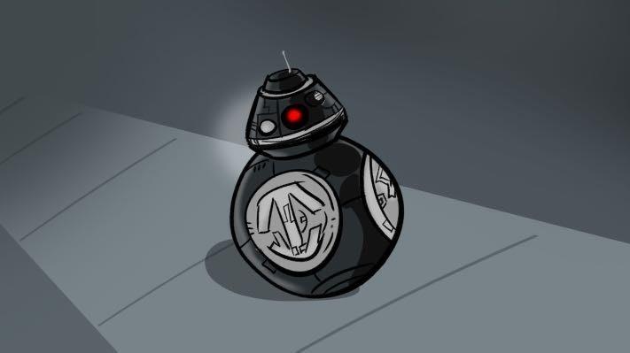 【遼寧236】(超商取貨付款)  Sphero 星際大戰 STAR WARS 原力覺醒 BB9E 智慧遙控機器人 公司貨