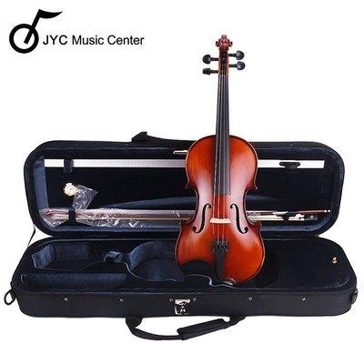 福利品出清  JYC JV-300X 雲杉實木小提琴福利品~4/4僅此一把(琴盒/弓)