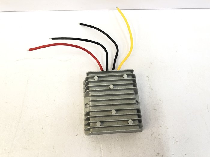 【炬霸科技】直流 24V 轉 12V 10A 120W 變壓器 電源 防水 轉換器。降壓器 音響 主機 無線電 供應器
