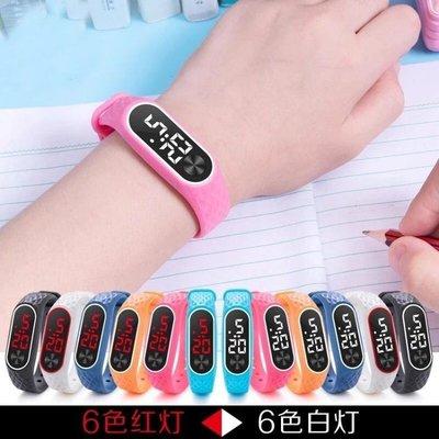 LED新款觸控電子夜光手錶男錶女錶手環時尚潮流情侶中小學生兒童KXA