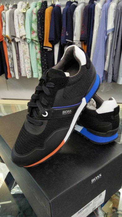 HUGO BOSS 雨果博斯 最新鞋款 休閒 時尚 活力配色 休閒鞋