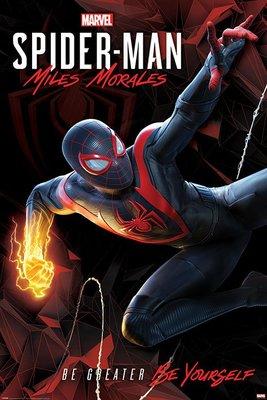 英國海報 PP34734(蜘蛛人Spider-Man Miles Morales (Cybernetic Swing)