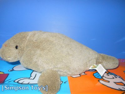 【辛普森娃娃屋】海洋世界 海獅 海豹 海狗 咖啡色 絨毛娃娃(ndytoy玩具)