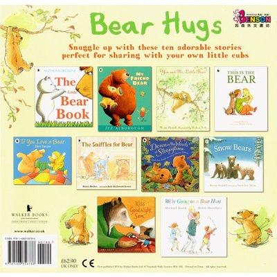 [邦森外文書] Bear Hugs Picture Book Collection 大師級名家們小熊主角繪本套書