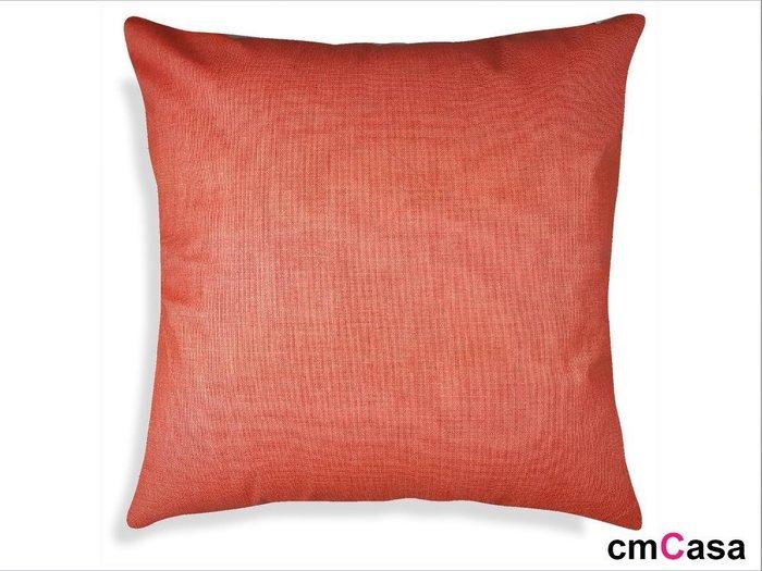 = cmCasa = [3006]無印良品素雅風格 樂活細亞麻抱枕套45x45  多尺寸夏日涼夏發行