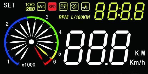 【藍牛冷光】EZ300 OBD HUD 抬頭顯示器 高亮度 時速 轉速 水溫 電壓 油耗 節氣門角度 0-100加速