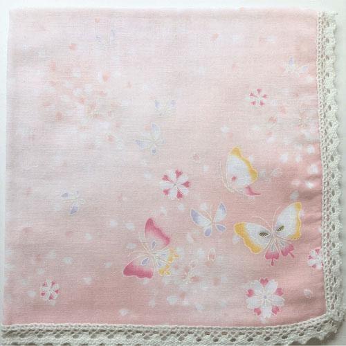 雙層紗蝴蝶手帕