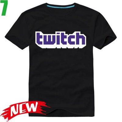 【Twitch】短袖創意設計主題T恤(共6種顏色可供選購) 新款上市任選4件以上每件400元免運費!【賣場二】