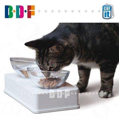 【興達生活】Hagen哈根防滑藝術餐盤 玻璃貓碗 食盆食碗`31739