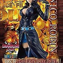 全新未開 日版 眼鏡廠 banpresto one piece 海賊王 dxf grandline lady film gold robin  羅賓 共1款
