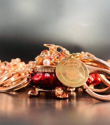 泰國 龍婆本廟 金銀財寶 聚寶盆 鑰匙圈 保證開光加持