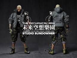 STUDIO SUNDOWNER 未來空想樂園 THE MECHANICAL ARM 1/6 figure hottoys enterbay medicom