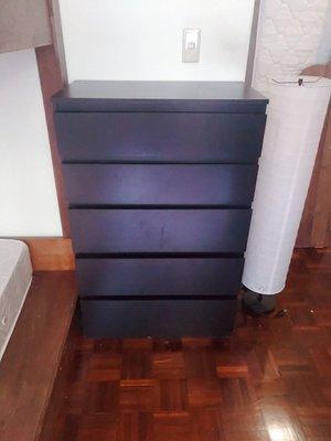 Ikea 5 抽斗櫃/斗櫃