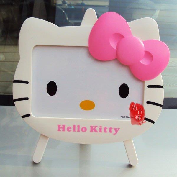 【尚古藝】kitty相框 創意可愛卡通KT貓hellokitty相框兒童寶寶擺臺相架立體創意相框