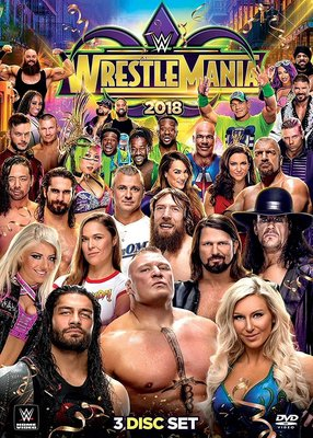 ☆阿Su倉庫☆WWE摔角 WrestleMania 34 DVD WM34摔角狂熱精選專輯 預購熱賣特價中