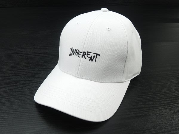 ☆二鹿帽飾☆(INHE RENT) 抗UV 休閒球帽/流行棒球帽/ 短帽簷7.5cm-台灣製-奶白色