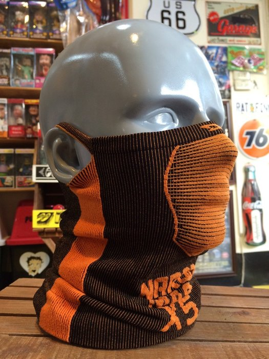 (I LOVE樂多)Naroo Mask 橘色長版X5騎行運動 面罩 單車 哈雷 越野 滑胎 偉士 VESPA Cafe