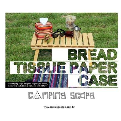 ?【94愛露營 實體店面】Camping Scape 韓國 Bread Tissue Paper 捲筒 衛生紙 收納