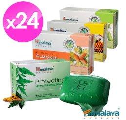 ㊣好便宜+免運✿ 【Himalaya】草本植萃護膚皂4款24入(任選) 等級一香皂TFM76%