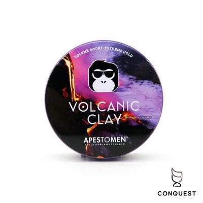 【 CONQUEST 】Apestomen Volcanic Clay 火山高性能強力髮泥 強烈蓬鬆層次線條 霧面光澤