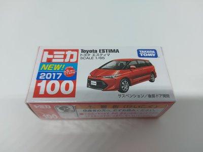 FAC 全新未開封日本 Tomica Toyota Estima (Previa) 豐田大霸玩具車