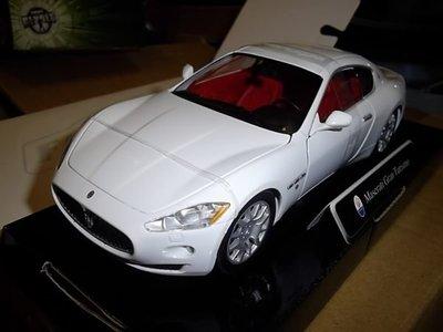 {首富車房} 瑪莎拉蒂 世界最美跑車MASERATI GRAN TURISMO 就是耀 白 空運到!!!!