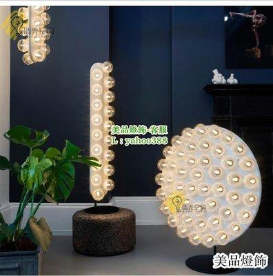 {美燈匯}北歐Prop花蕾玻璃LED餐廳客廳臥室別墅落地燈(MDH-499)