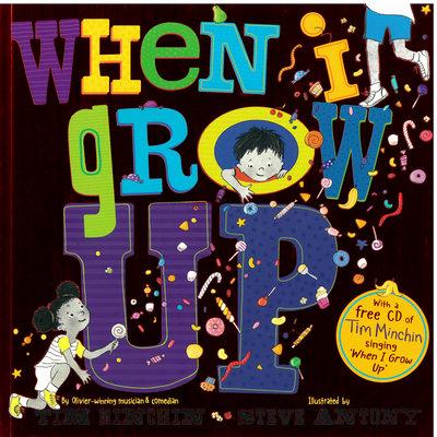 *小貝比的家*WHEN I GROW UP/平裝書+CD/3~6歲/品格教育