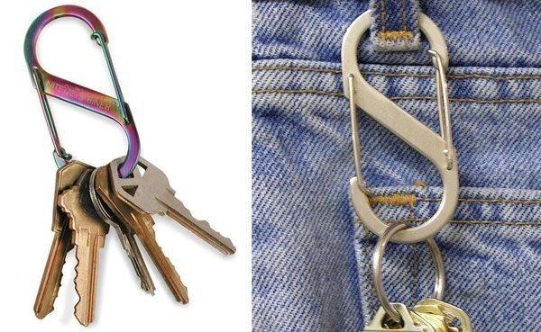 { POISON } NITE IZE S-BINER S型金屬掛勾 雙邊開口 多功能耐用勾環 替代D字扣鑰匙圈