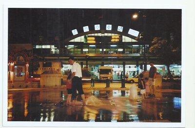 夜景豐原車站富士像紙550