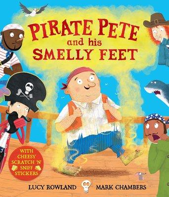 *小貝比的家*PIRATE PETE AND HIS SMELLY FEET/平裝/3~6歲/貼紙書