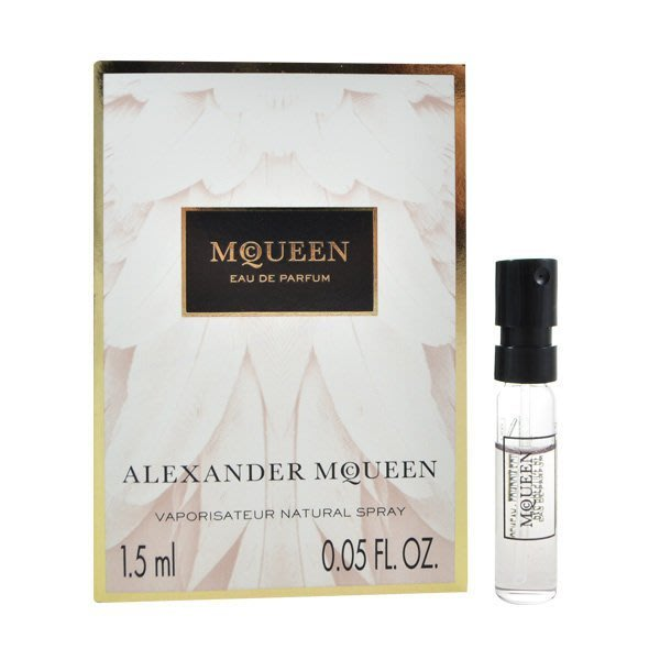 Alexander McQueen 同名淡香精 1.5ml Perfume EDP~挖寶客