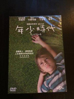 (全新未拆封)年少時代 Boyhood DVD(傳訊公司貨)限量特價