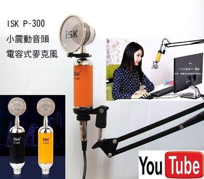 rc第1號套餐之2b:isk P-300+ NB-35懸臂支架加送166種音效軟體 網路天空