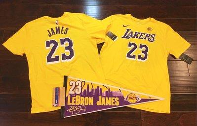 美國 實圖 nike NBA Los Angeles Lakers LeBron James  詹皇 詹姆斯 湖人 23
