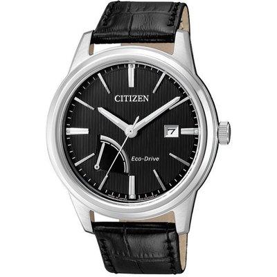 CITIZEN Eco-Drive 星辰光動能 動力顯示時尚男錶-黑 AW7000-07E/ 藍寶石水晶鏡面 新北市