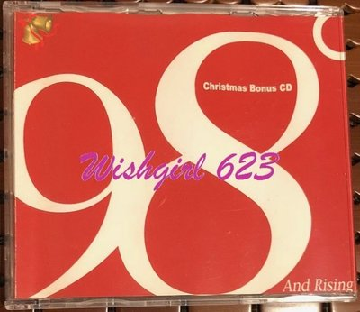 98 Degrees/98度-『 Christmas Bonus CD』稀有單曲CD(絕版)~Nick、drew