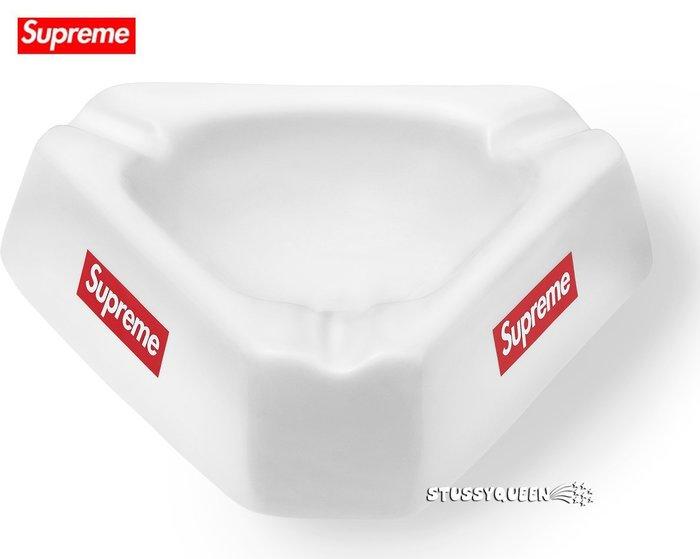 【超搶手】全新正品2015 AW 秋冬 Supreme Ceramic Ashtray 陶瓷 菸灰缸 白色