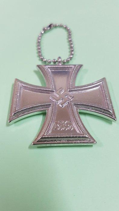 (休閒部屋)納粹,十字架鑰匙圈~有咖啡色,銀色2種